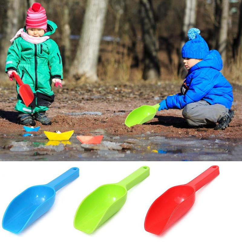 Kids Snow Sand Scoop Shovel Toy Outdoor Winter Snow Fighting Kids Toy Tools ​Random Color Children Fighting Tools Supplies