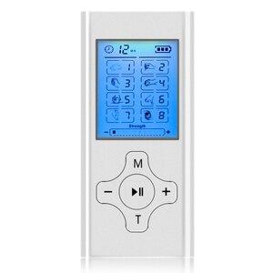 Image 1 - Recargable Mini Personal nervio de estimulación muscular EMS electrónicos Puls masajeador Digital TENS para terapia máquina de unidad de alivio del dolor