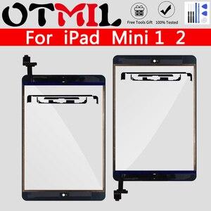 Original Quality For iPad Mini 1 Mini 2 A1432 A1454 A1455 A1489 A1490 A1491 Touch Screen Digitizer Replacement Sensor+Key Button(China)