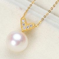 Manufacturers Direct Selling S925 Silver Pendant Mountings New Style Pendant base Silver Gemstone Pearl Pendant Parts Wholesale