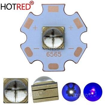 10W 12W LG6565 UV Led vertical púrpura luz cristal de cuarzo Chip 365nm 370NM 395nm 400nm 405nm diodo ultravioleta para impresora de curado