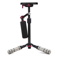 DSLR Handheld Stabilizer 15.7540cm  Carbon Fibre Video Stabilizing Support Wedding Micro Film Shooting Shock Absorber Bracket