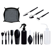 Conjunto de herramientas para plantas suculentas, Mini jardín, conjunto de herramientas de mano para trasplante, herramientas de jardinería en miniatura para plantar en miniatura para interiores