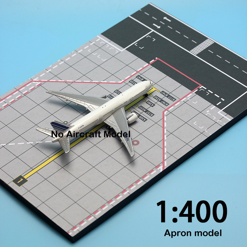 Miniature  1:400  Airliner Parking Space  Airstrip Scene  Background  Simulated Airport Model Arrangement 20*30cm