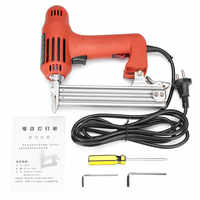 Electric Nailer 10-30mm 220V 1800W Straight Nail Staple Guns Woodworking Tool Light Weight Portable 60/min Firing Speed Rate