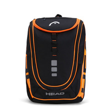 adults head tennis racket bag bagpack breathable sports backpack for 1 2 pcs rackets racquete with shoes bag double shoulder HEAD Racket Backpack For Max 2 Rackets With Shoes Bag Professional Men's Tennis Bag All Sports Accessories In 2018 New