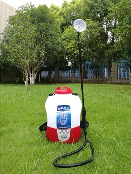 8L 12V / 4.4AH Lithium battery backpack Electrostatic ULV foger sprayer, garden Agricultural electrostatic adsorption sprayer adsorption
