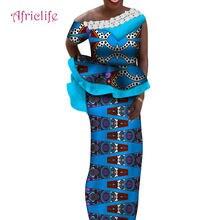 Традиционный Женский костюм с юбкой элегантный женский из двух
