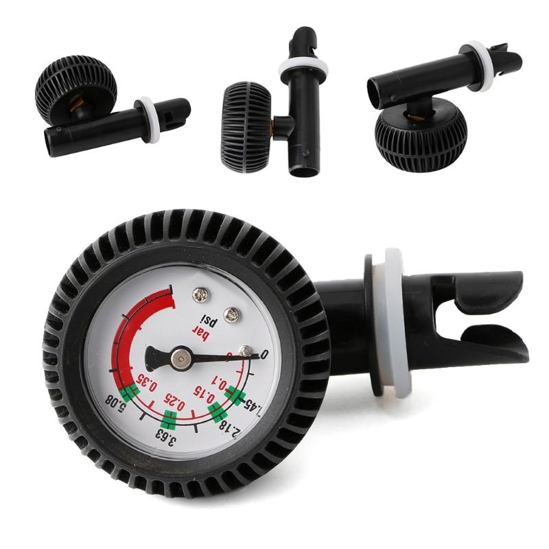 Воздушный манометр, термометр, соединитель для надувной лодки, Каяка, плота, серфинга, инструмент для улицы