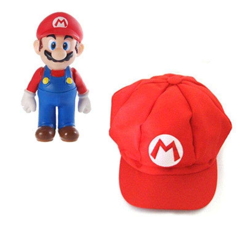 Super Mario Bros Hats Mario Luigi Yoshi Snapback Party Suppliesl Caps Cartoon Casual Summer Sun Hats Couple Hip Hop Caps