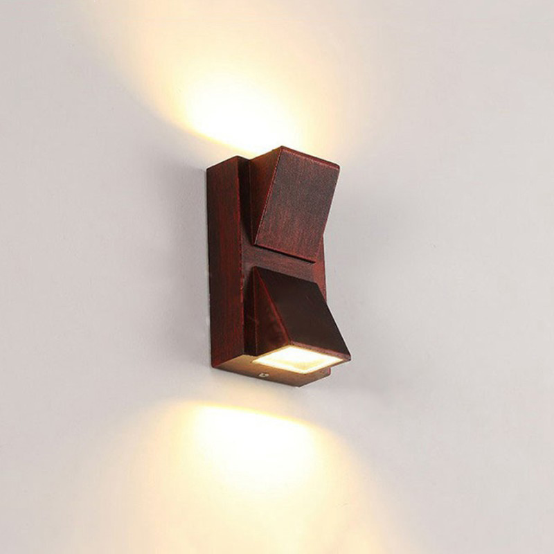(WECUS) LED outdoor lighting, outdoor wall lamps, modern aluminum waterproof wall light