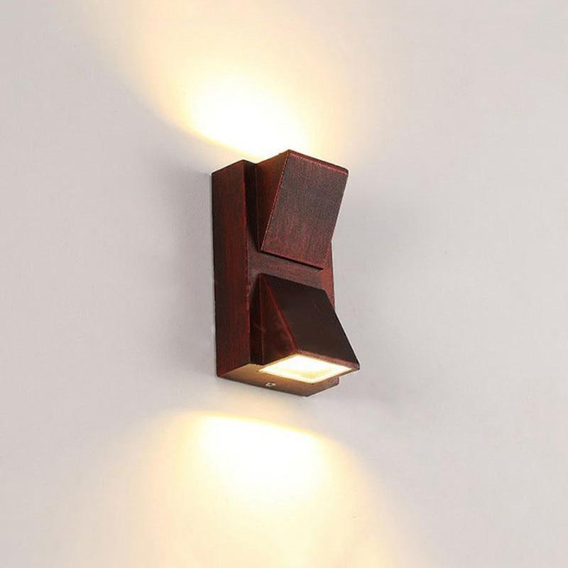 (WECUS) LED Outdoor Lighting, Outdoor Wall Lamps, Modern Aluminum Waterproof Wall Light
