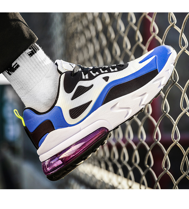 H747f11f21ef3472980396d8f02632716K - Mens Casual Shoes Fashion Male Sneakers Air Cushion Breathable Sports Running Shoes PU Mesh Tenis Masculino Adulto Men Shoe