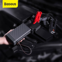 Baseus Car Jump Starter 16000mAh Portable PES Emergency Auto Mobile Power Bank Battery Outdoor For Phone Tablet