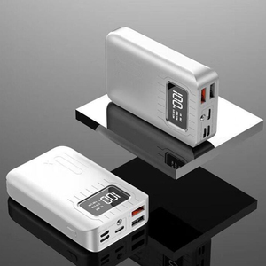 Image 5 - Портативное зарядное устройство 10000 мАч, внешний аккумулятор 10000 мАч с двойным USB портом, Внешнее зарядное устройство для Xiaomi Mi 9 8 iPhone