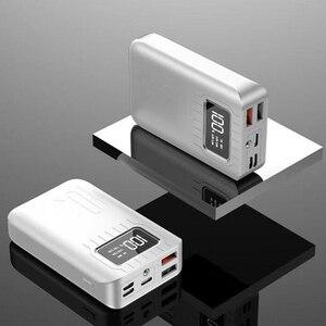 Image 5 - 10000 mAh batterie externe Portable charge PowerBank 10000 mAh double USB appauvrbank chargeur de batterie externe pour Xiao mi mi 9 8 iPhone