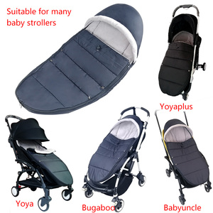 Image 5 - Universal Baby Stroller Sleep Bag Windproof Winter Socks For Yoya Yoyo Stroller Warm Footmuff Cover Baby Stroller Accessories