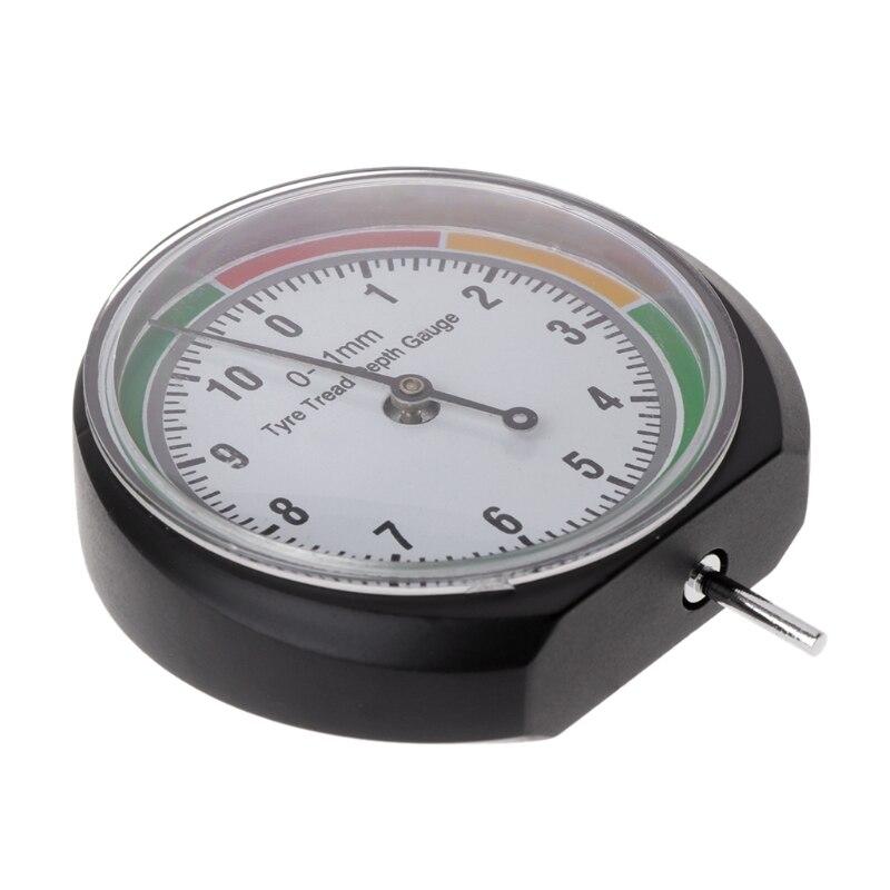 Автомобильный датчик глубины протектора для грузовых автомобилей Van Tire Pointer Monitor Measure Device Tool