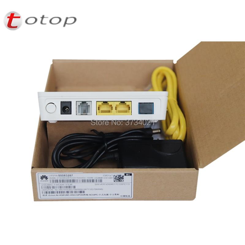 Hua Wei GPON HG8120C With 2*FE+1*phone Port, English Version HG8120H