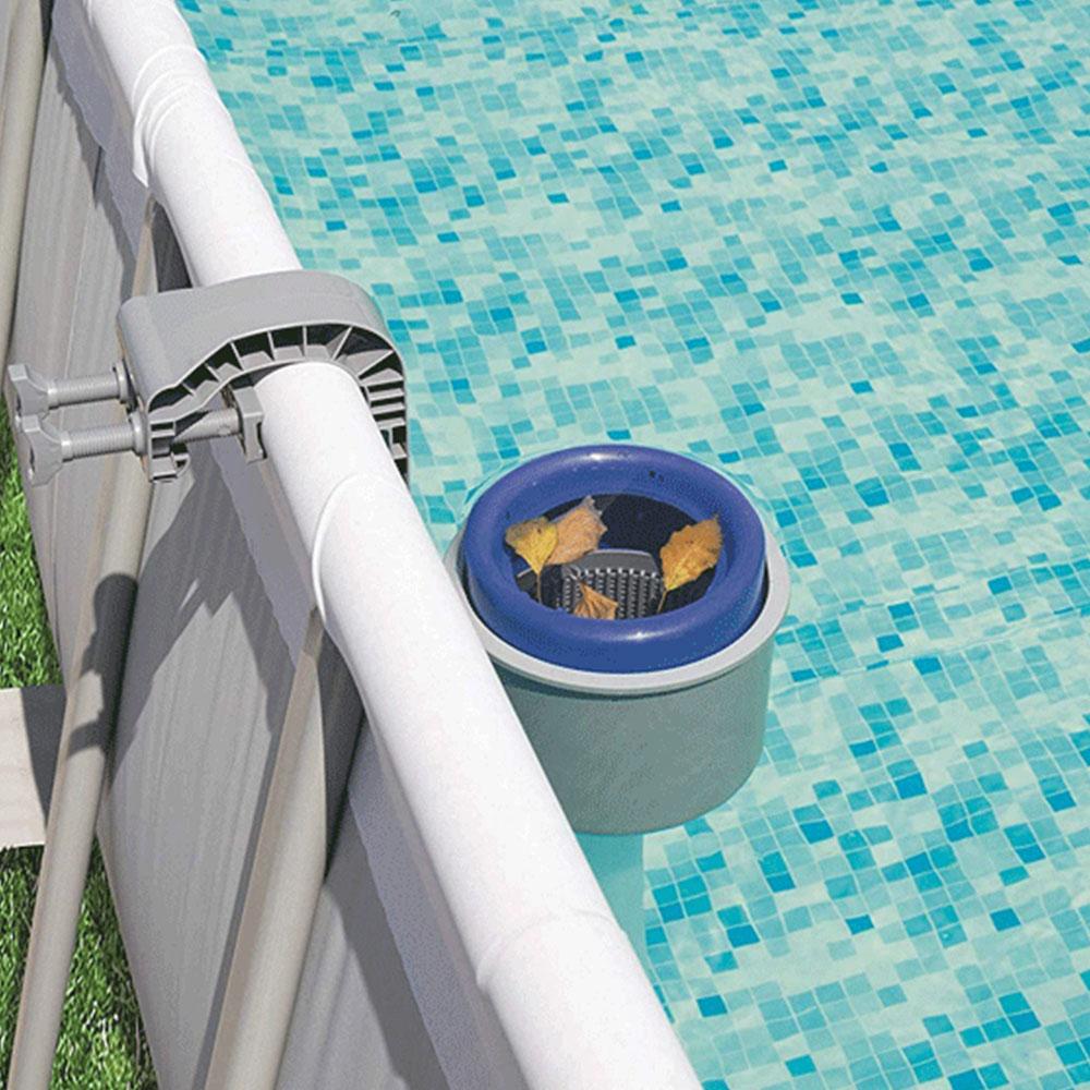 Écumeur de Surface piscine aspirateur outil de nettoyage tête d'aspiration fontaine aspirateur brosse Fishpond accessoires piscine