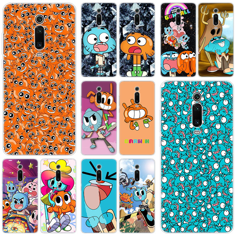 The <font><b>Amazing</b></font> World Gumball Silicone Case for <font><b>Xiaomi</b></font> Mi 9T Pro CC9E 9 9SE 8 A3 A2 Lite A1 5X 6X Mix 3 2S Play Pocophone F1 Cover image