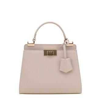 Woman Beach Package New Design Pattern 2019 Concise Single Shoulder Messenger Handbag vintage Style Fashion For Women Crossbody