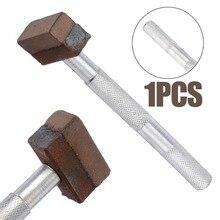 1pcハンドヘルド焼結ダイヤモンド砥石ドレッサーグラインダー11.5センチメートル長金属石ドレッシングツール