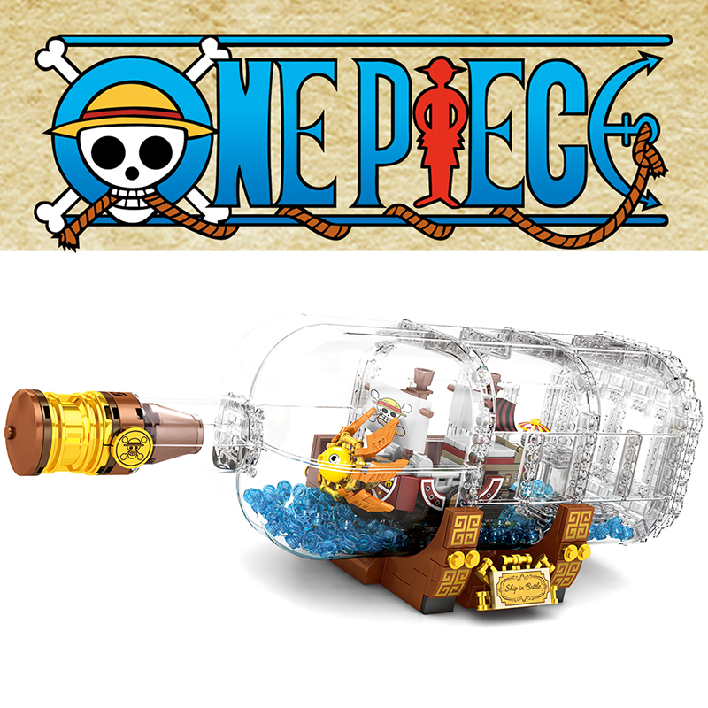 568pcs Light Technic Idea Ship Boat In A Bottle Compatible lepining <font><b>21313</b></font> Building Blocks Bricks Education Toy For Children Gift image