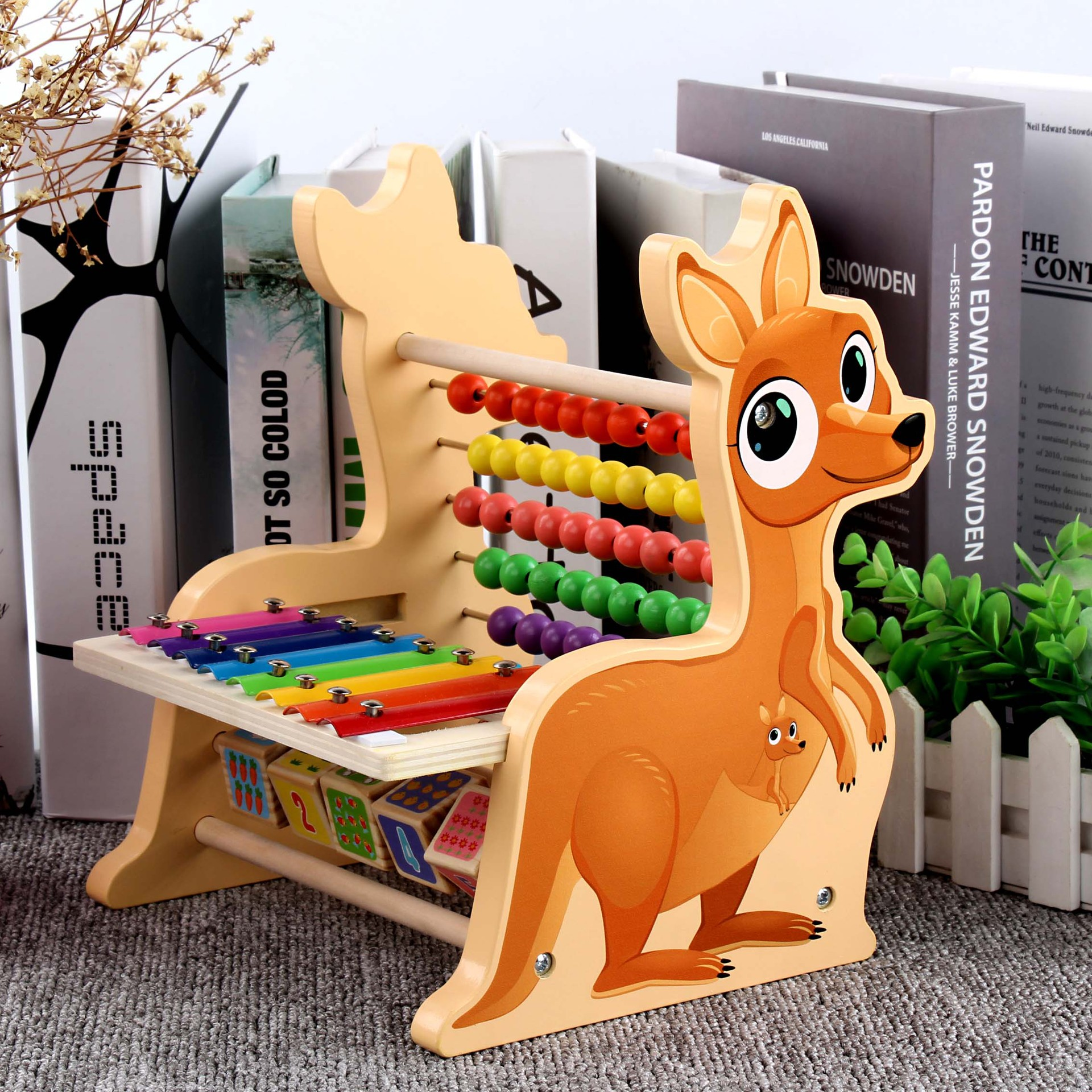 Multi-functional Daishu-Calculation Frame 1Kg Children'S Educational Beads Learning Toys Teaching Aids 3-6 A Year Of Age Mmm-001