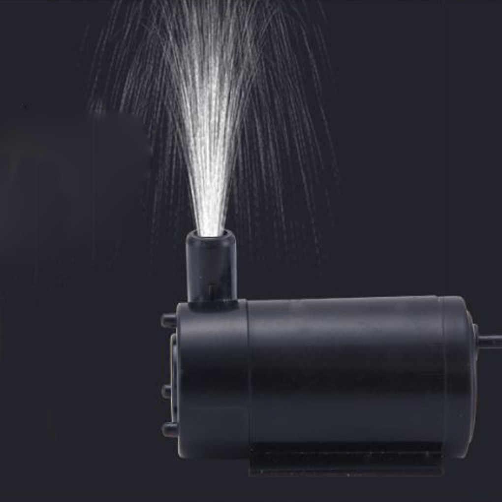 Usb電源マイクロ水中ポンプミニ水ポンプ水槽水族館噴水dc 5v 2-3L/分