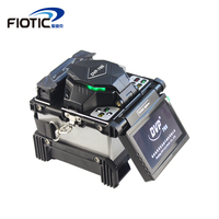 FTTH Automatic Multi language Fiber Optic Welding Splicing Machine DVP 765 Optical Fiber Fusion Splicer Fast welding SM&MM