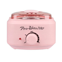 500Cc Mini Wax Warmer Heater Electric Hands Spa Hair Removal Depilatory Melting Wax Machine Pot Temperature Control(China)