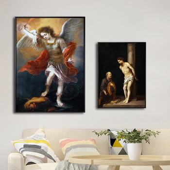 Home Decoration Print Art Wall Pictures for Living-room Poster Canvas Printing Paintings Spanish Bartolome Esteban Murillo image