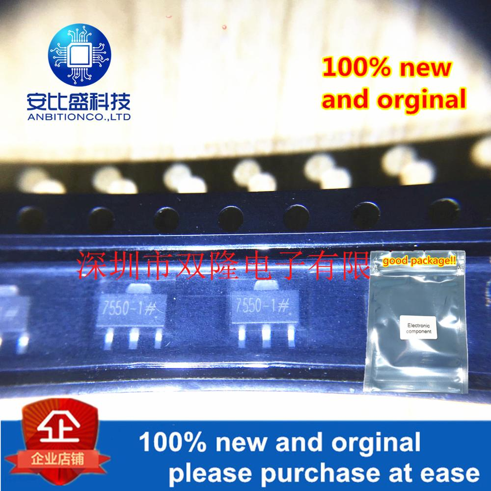 10pcs 100% New And Orginal HT7550-1 HT7550A-1 7550-1 SOT89 In Stock