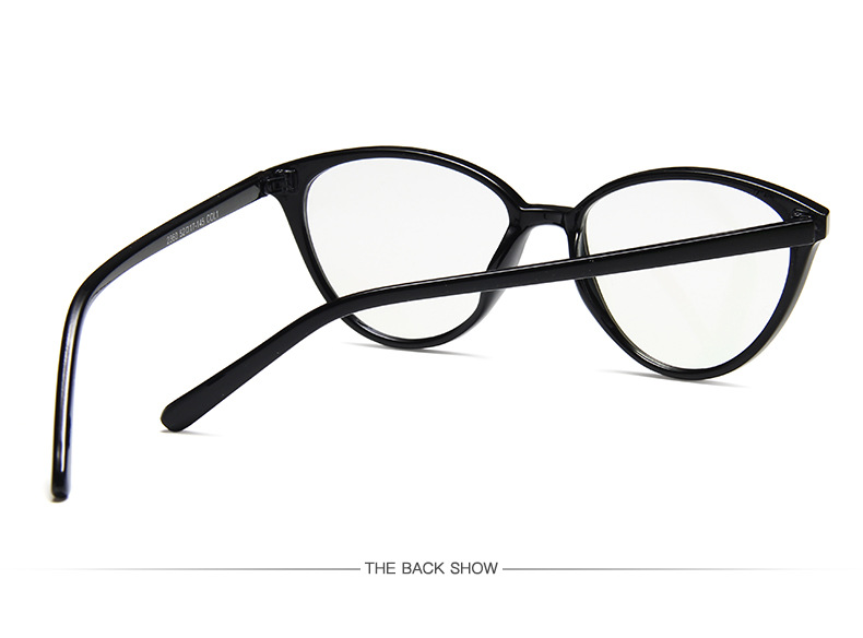 New Retro Cat Eye Women Glasses Frame Anti Blue Light Lady Eyeglasses Frame myopia Vintage Clear Glasses Optical Spectacle Frame (7)