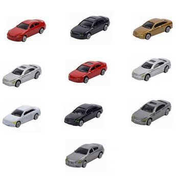 50pcs HO Scale Model Car 1:87 Building Train Scenery NEW C100 image