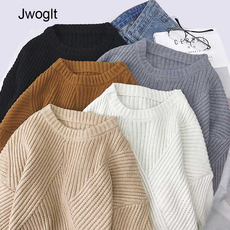High Quality Harajuku Jumper Knit Wool Sweaters Autumn Winter Sweater Fashion Knitted Fit Pullovers Male Pull Homme