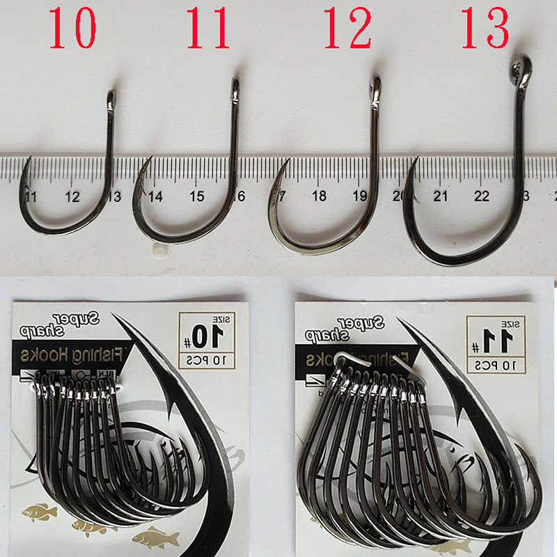 10pcs ברזל צלחת וו כבד טונה ברזל צלחת וו חידקן הרינג וו גדול דגי וו דיג כלי אבזרים