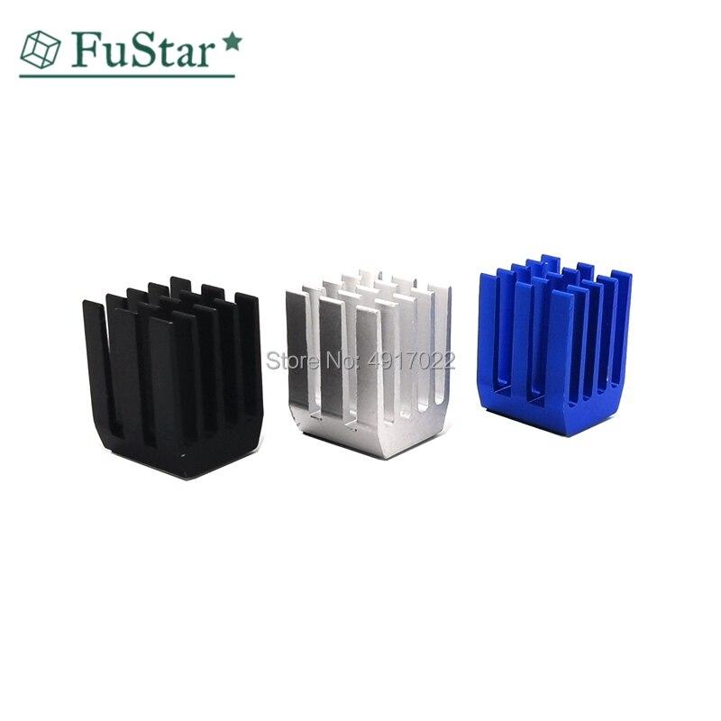 20Pc/Set 9*9*12mm Aluminum Cooling Heat Sink Chip RAM Radiator Heatsink Cooler Gdstime Aluminum Mini IC Chipset Cooling 9x9x12mm