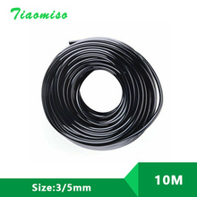 10M 3/5mm Garden Micro Irrigation Soft Hose Watering Pipe Pots Drip For 3/5 mm Arrows Plant Flower Sprinkler