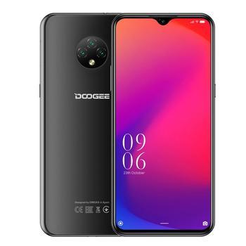 Купить DOOGEE X95 смартфон с 5,5-дюймовым дисплеем, четырёхъядерным процессором MTK6737V/WA, ОЗУ 2 Гб, ПЗУ 16 ГБ, 6,52 ГГц, Android 10