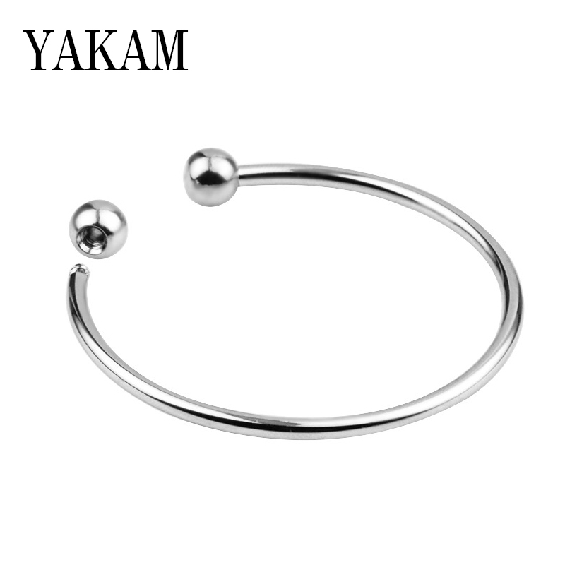Basic <font><b>Open</b></font> Pulseira Fit Original Pandora Charms <font><b>Bracelets</b></font> Crystal Base Chain Beads DIY Accessories Jewelry for Women Bangle Gift image