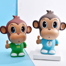 children Safe bank for adults Safe deposit box Animal monkey modern art Craftwork Creative bedroom decor accessories cute gift
