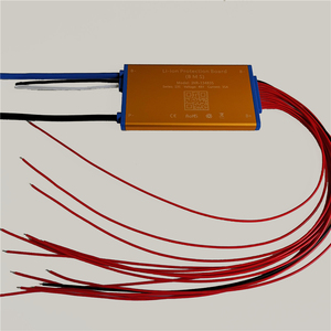 Image 5 - Super thin 48V 13S 15A 25A 35A Lithium battery BMS PCM PCB with heat sensor and on off switch for Hailong battery ebike battery