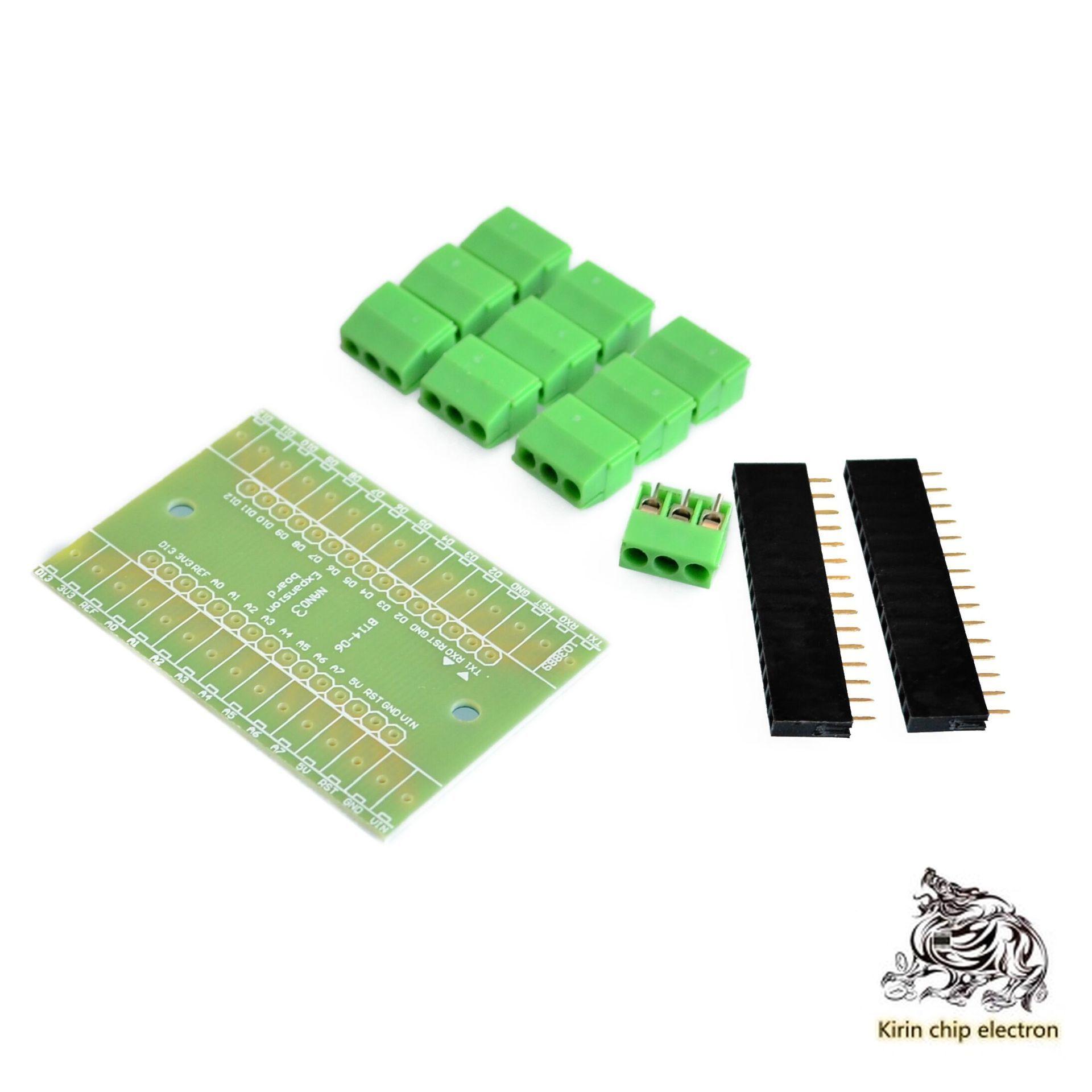 5PCS/LOT Nano Extension Board NANO IO Shield V.1. O Simple Expansion Board (DTY)