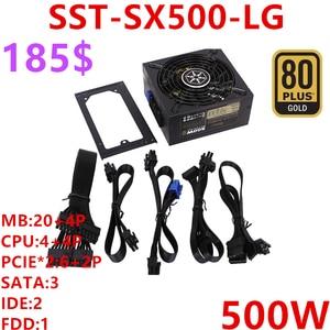 Image 2 - Nouveau PSU pour SilverStone marque SFX entièrement modulaire 80plus or jeu alimentation muet 600W/500W alimentation SST SX600 G SX500 LG