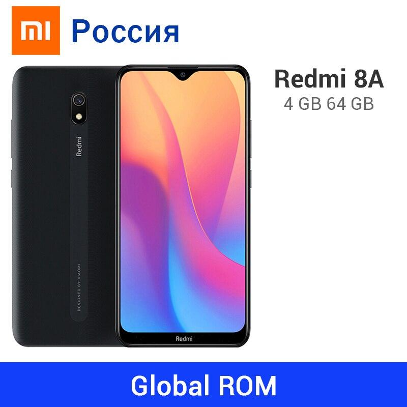 Global ROM Xiaomi Redmi 8A 4GB RAM 64GB ROM 5000mAh 8 A Snapdargon 439 Octa Core 12MP Camera OTA Update Mobile Phone Type C|Cellphones| - AliExpress
