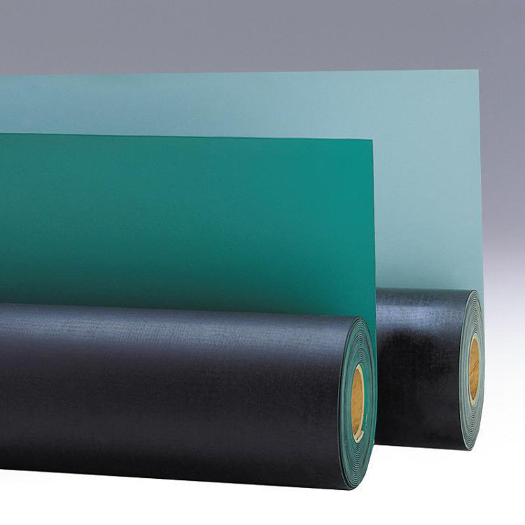 AVIT Antistatic Mat Green Antistatic Mat Rubber 2MM Thick Antistatic Mat Manufacturers Direct Selling