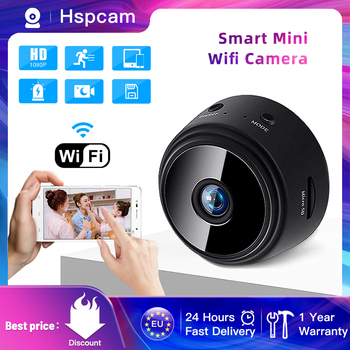 1080P HD Mini Camera WiFi Wireless Security Protection Remote Monitoring Motion Detection Dark Night Vision - discount item  40% OFF Video Surveillance