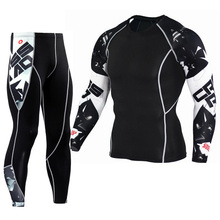 Winter Thermal underwear Sets Men long johns base layer Comp